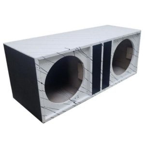 Caixa Box Duto Retangular Médio Eros Jbl Rex 2x12 mdf