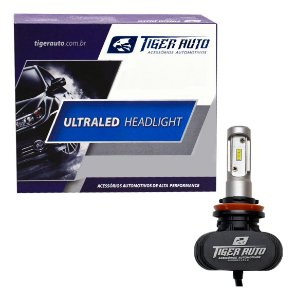 Kit Lâmpada Ultra Led Headlight Automotiva 6000k H1