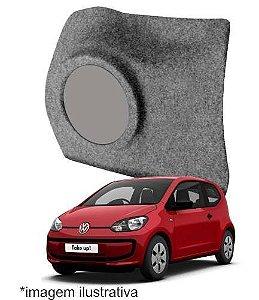 Caixa De Fibra Lateral Reforcada Volkswagen Up Ld 8 Polegada
