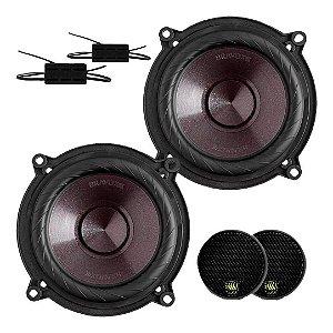 Kit 2 Vias Bravox Cs50 P 120w Rms 4 Ohms Mid Bass Tweeter