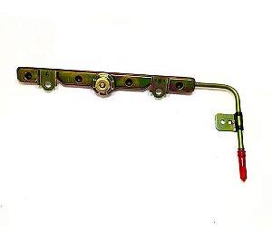Flauta Injeção Toyota Corolla 1.8 03> Ferro 2327022010 Ori