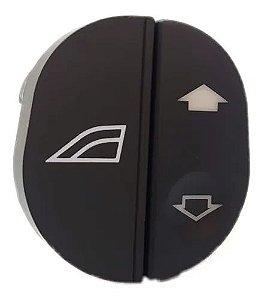 Botão Vidro Elétrico Direito Ka / Fiesta - 96fg14529ac