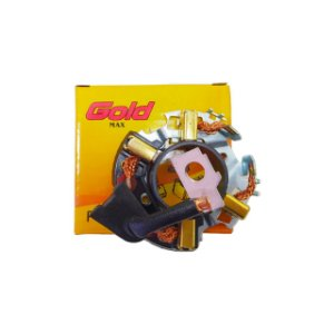 Kit 5x Suporte Escova Partida Corsa Celta Palio Uno Sistema Bosch - GM77164