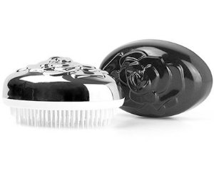 Escova Desembaraçadora para cabelos afros, crespos e lisos.