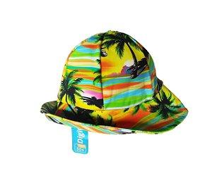 Chapéu com proteção solar UV 50 - Coqueiros