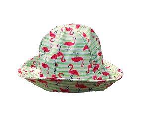 Chapéu com proteção solar UV 50  - Flamingos