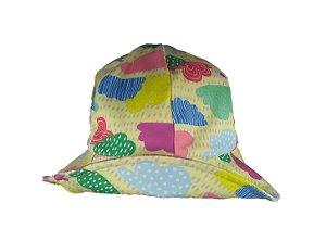 Chapéu com proteção solar UV 50 - Nuvem