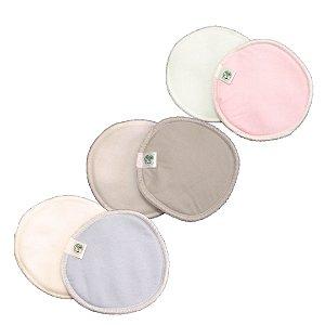 KIT Absorvente de seios - 3 pares/cores