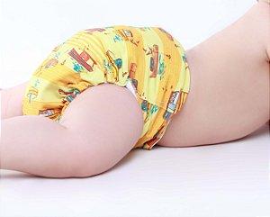 Fralda Ecológica Nova Era Baby - Barquinhos