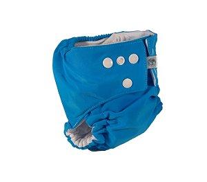 Fralda Ecológica Lisa Azul