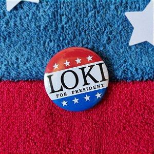 Botton Loki For President