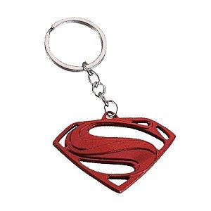 Chaveiro Símbolo Superman - Liga Da Justiça - DC Comics (Super-Homem)