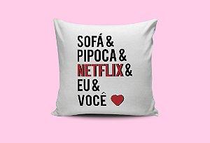 Almofada Netflix Eu e Você
