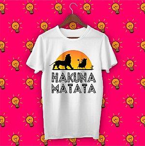 Camiseta O Rei Leão - Hakuna Matata
