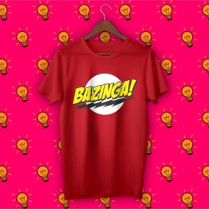 Camiseta The Big Bang Theory - Bazinga!