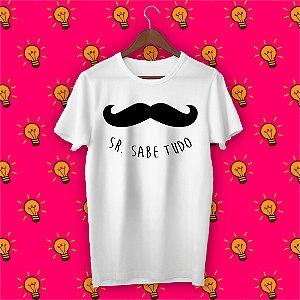 Camiseta Sr. Sabe Tudo
