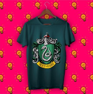 Camiseta Harry Potter - Sonserina