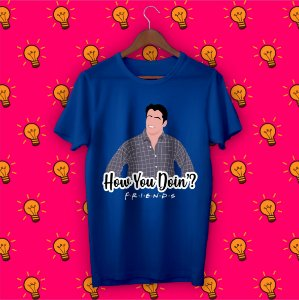 Camiseta Minimalista Friends - Joey