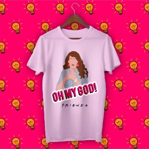 Camiseta Minimalista Friends - Janice
