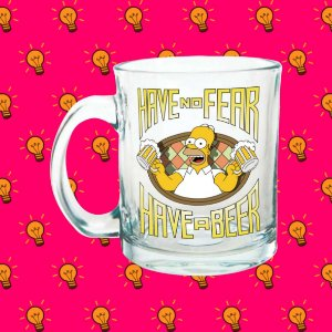 Caneca Os Simpsons - Have No Fear, Have a Beer