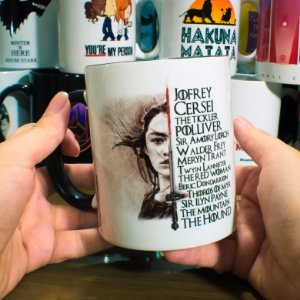 Caneca Game of Thrones - Arya Stark