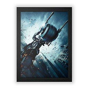 Quadro Batman: O Cavaleiro das Trevas (Mod.2)