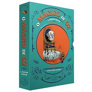 Box - O mágico de Oz + O maravilhoso mundo de Oz + livro de colorir