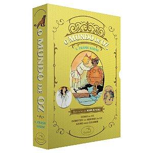 Box - O Mundo de Oz: Ozma de Oz + Dorothy e o Mágico em Oz + Livro para colorir