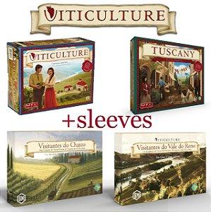 Viticulture Essencial Edition + Expansões + Sleeves (Pré-Venda)