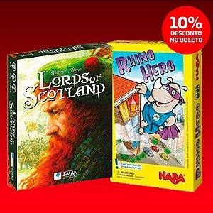 Namoro Casual (Rhino Hero + Lords Of Scotland)