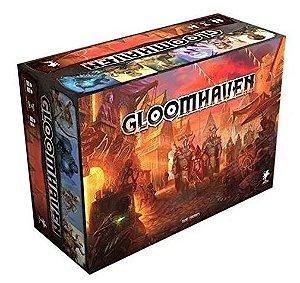 Gloomhaven + 4 Playmats Individuais