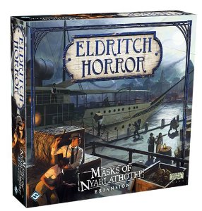 Eldritch Horror: As Máscaras de Nyarlathotep