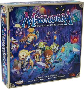 Masmorra: Dungeons of Arcadia + Arcadia Quest Crossover Kit + Adventurers Set + Monster set com sleeve (Pré-venda)