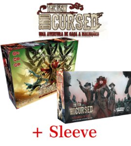 The Few and Cursed + Expansão + Sleeves (Pré-Venda)