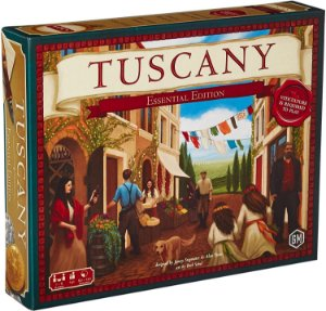 Viticulture: Tuscany Essencial Edition + Sleeves (Pré-venda)