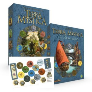 Terra Mystica + Mercadores + Mini Exp