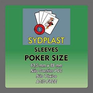 SLEEVE PADRÃO (Poker Size) Sydplast (63,5x88)