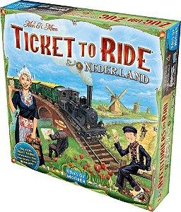 Ticket To Ride - Nederland (Pré-Venda)