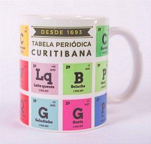Caneca Tabela Periódica Curitibana