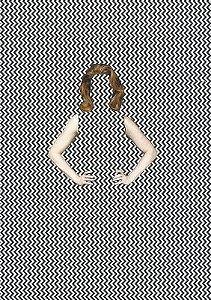 Gravura Colagem mulher hipnotizante