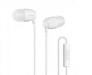 Fone de Ouvido Edifier com Microfone para Celular P210 - Branco