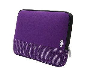 """Luva para Notebook 13.5"""" FONTANA VAX S135FAVTS - Roxa"""