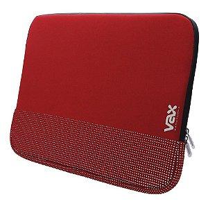 "Luva para Notebook 13.5"" FONTANA VAX S135FARDS - Vermelho"