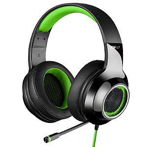 Headphone Gamer 7.1 Over-Ear Edifier G4 Preto e Verde