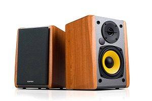 Monitor De Áudio Edifier Bluetooth R1010BT Madeira