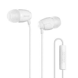 Fone De Ouvido  Com Microfone Para Celular Edifier P210 Branco