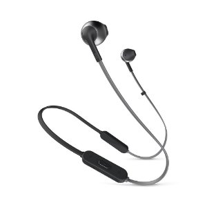 Fone de ouvido intra auricular JBL T205BT Preto Original