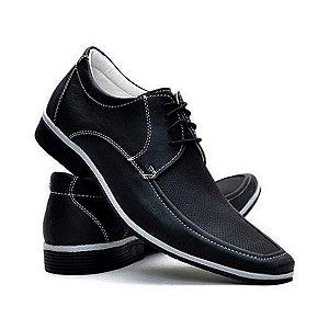 Sapato Masculino Casual Florense 3022 Preto