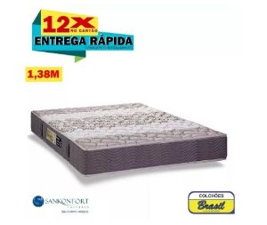 Colchão Sankonfort Orthopedic Plus Casal 1,38x1,88x25