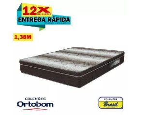 Colchão Ortobom Light Ortopédico Casal 138x24